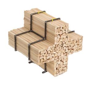 Brennholzhalter Schweizerkreuz