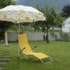Sonnenschirmhalter Kralle mit Sonnenschirm